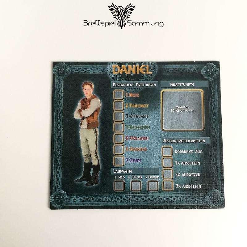 Das Haus Anubis Pfad Der 7 Sünden Charaktertableau Daniel