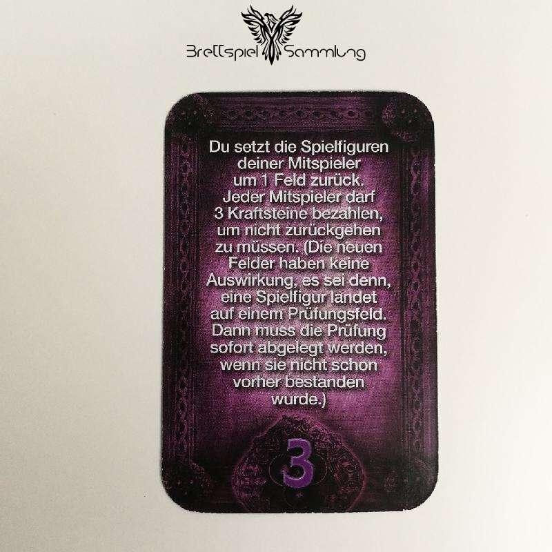 Das Haus Anubis Pfad Der 7 Sünden Sündenkarte Zorn Motiv #8