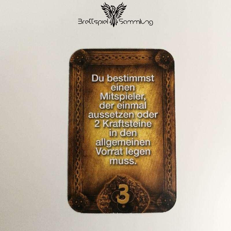 Das Haus Anubis Pfad Der 7 Sünden Sündenkarte Trägheit Motiv #1