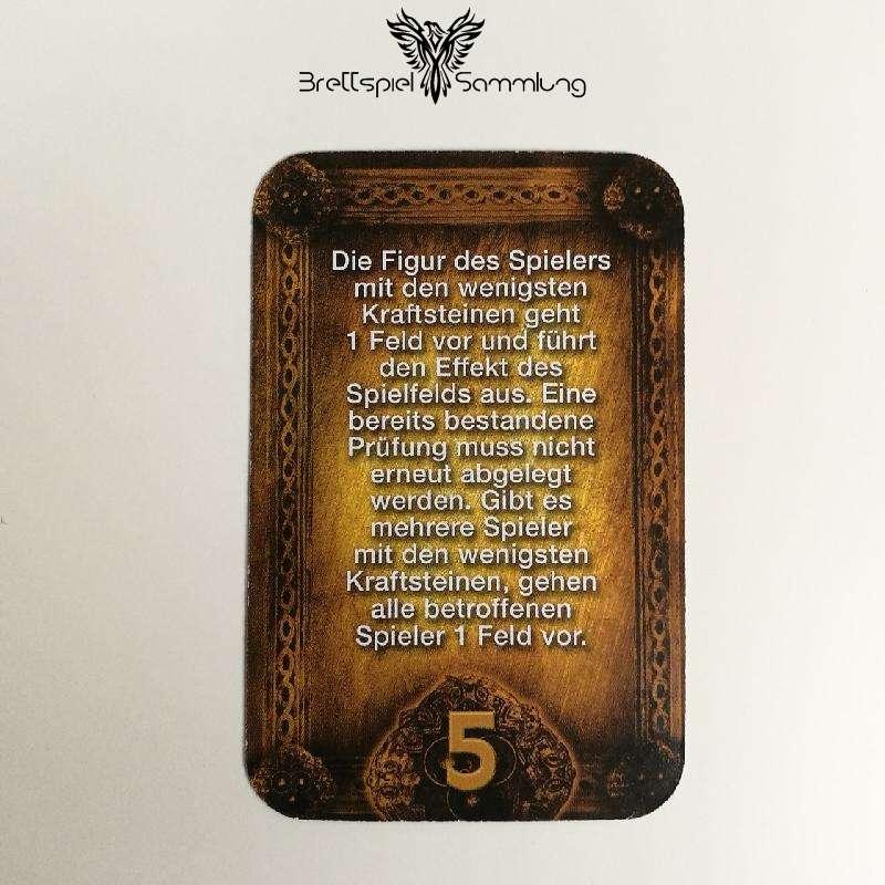 Das Haus Anubis Pfad Der 7 Sünden Sündenkarte Trägheit Motiv #2