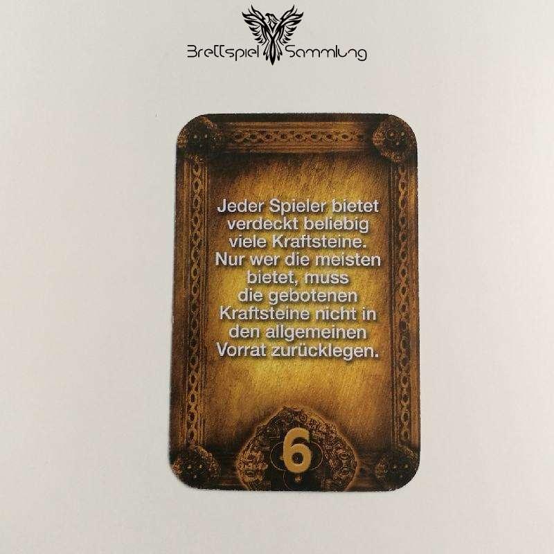 Das Haus Anubis Pfad Der 7 Sünden Sündenkarte Trägheit Motiv #4