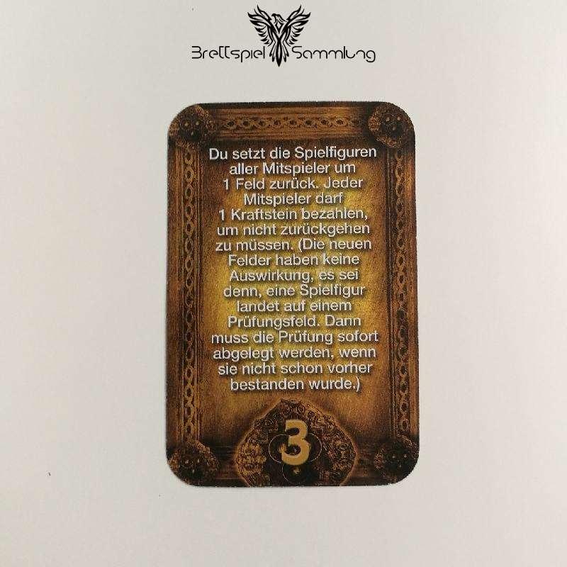 Das Haus Anubis Pfad Der 7 Sünden Sündenkarte Trägheit Motiv #5