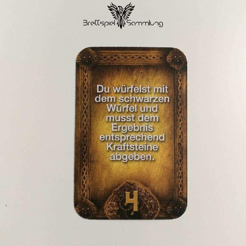 Das Haus Anubis Pfad Der 7 Sünden Sündenkarte Trägheit Motiv #9