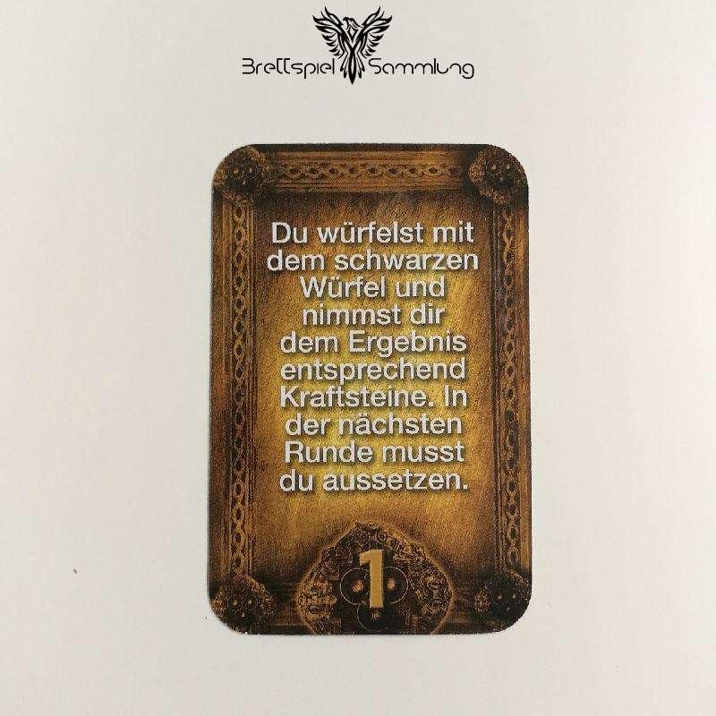 Das Haus Anubis Pfad Der 7 Sünden Sündenkarte Trägheit Motiv #10