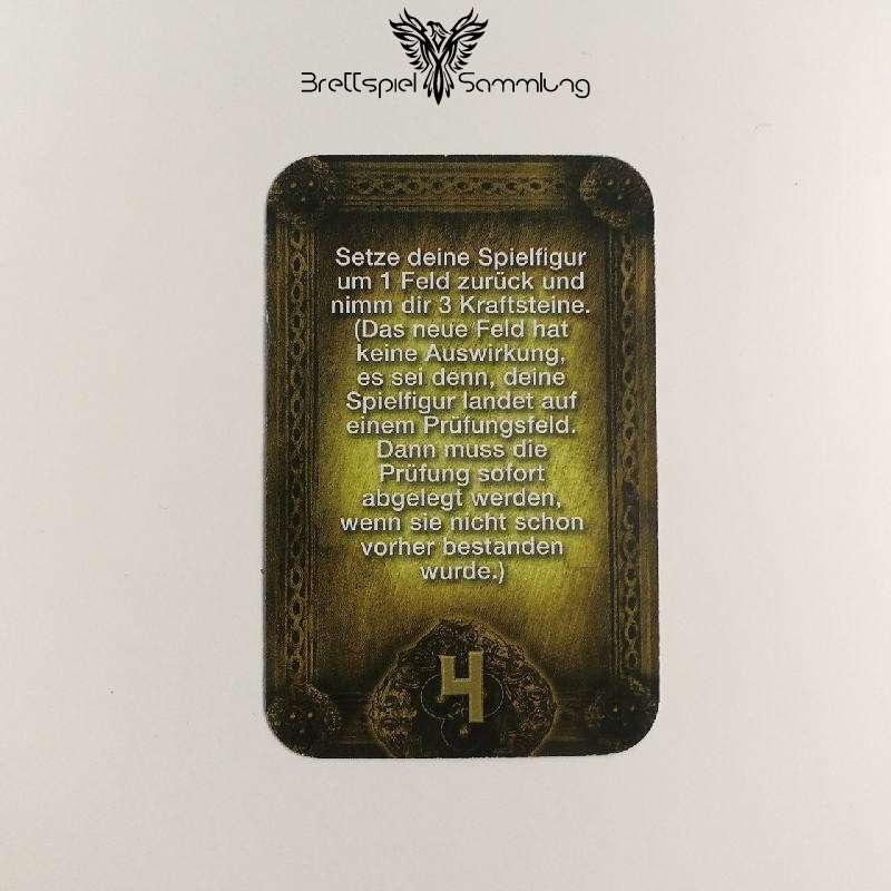 Das Haus Anubis Pfad Der 7 Sünden Sündenkarte Habgier Motiv #1