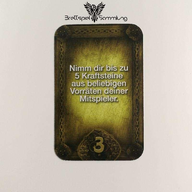 Das Haus Anubis Pfad Der 7 Sünden Sündenkarte Habgier Motiv #7