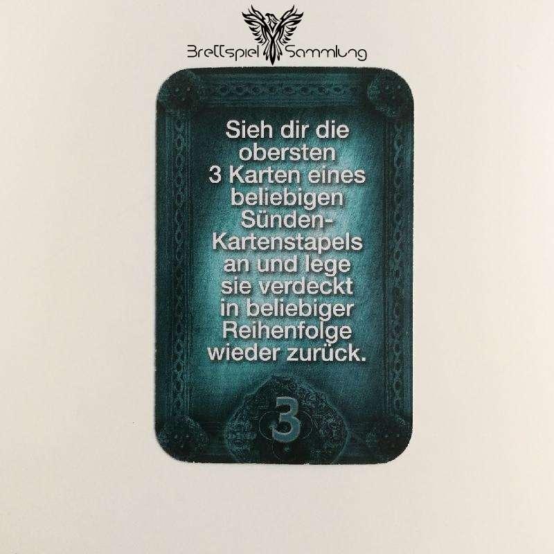 Das Haus Anubis Pfad Der 7 Sünden Sündenkarte Eitelkeit Motiv #1