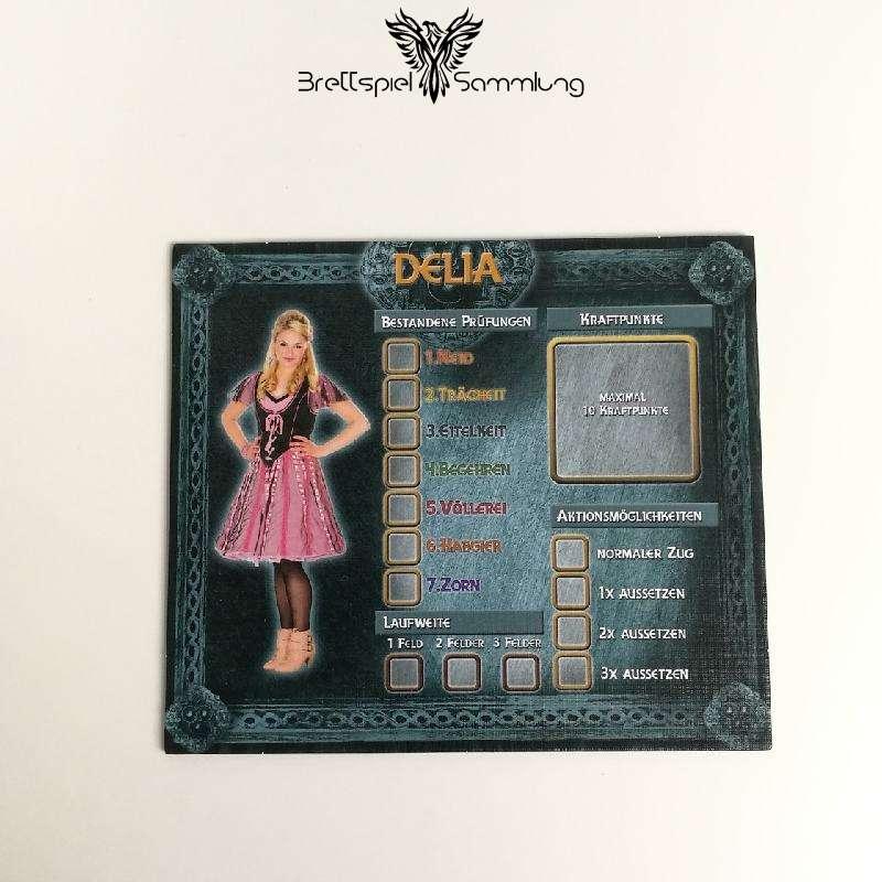 Das Haus Anubis Pfad Der 7 Sünden Charaktertableau Delia