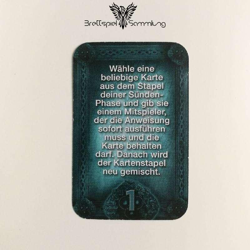 Das Haus Anubis Pfad Der 7 Sünden Sündenkarte Eitelkeit Motiv #9
