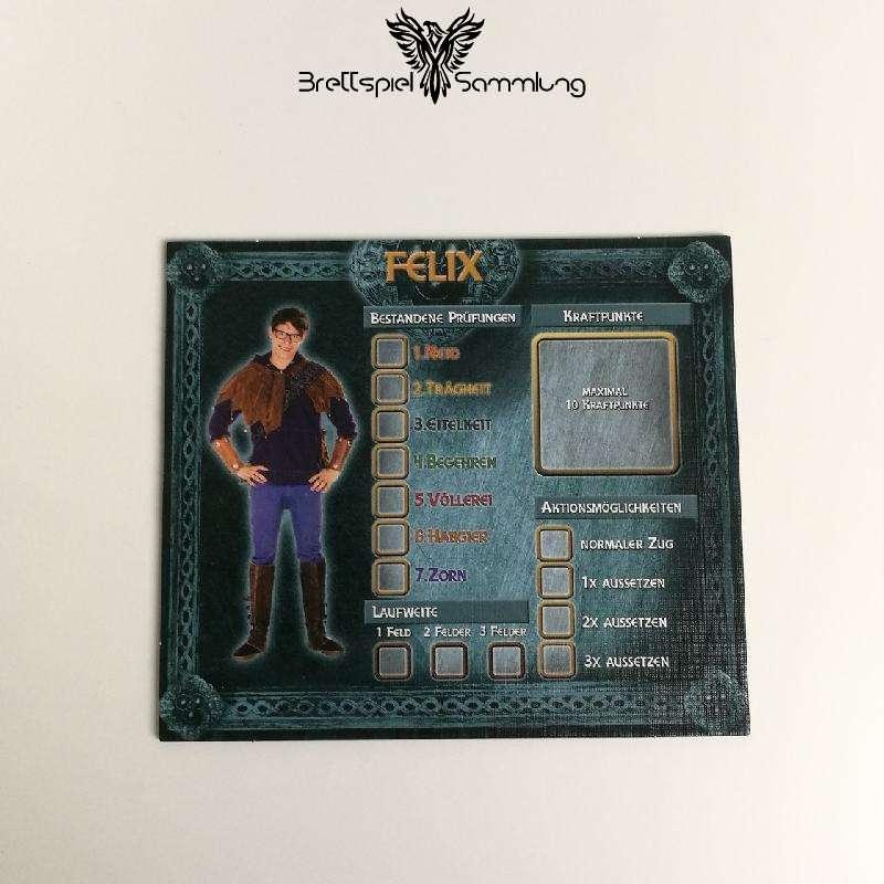 Das Haus Anubis Pfad Der 7 Sünden Charaktertableau Felix
