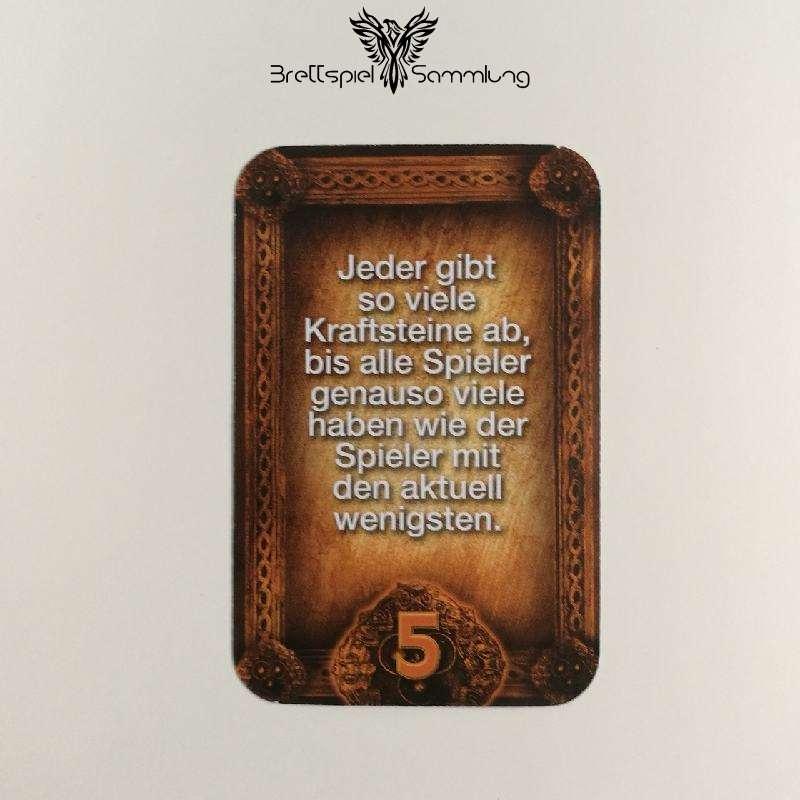 Das Haus Anubis Pfad Der 7 Sünden Sündenkarte Neid Motiv #1
