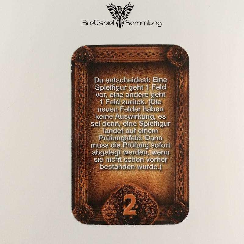 Das Haus Anubis Pfad Der 7 Sünden Sündenkarte Neid Motiv #8