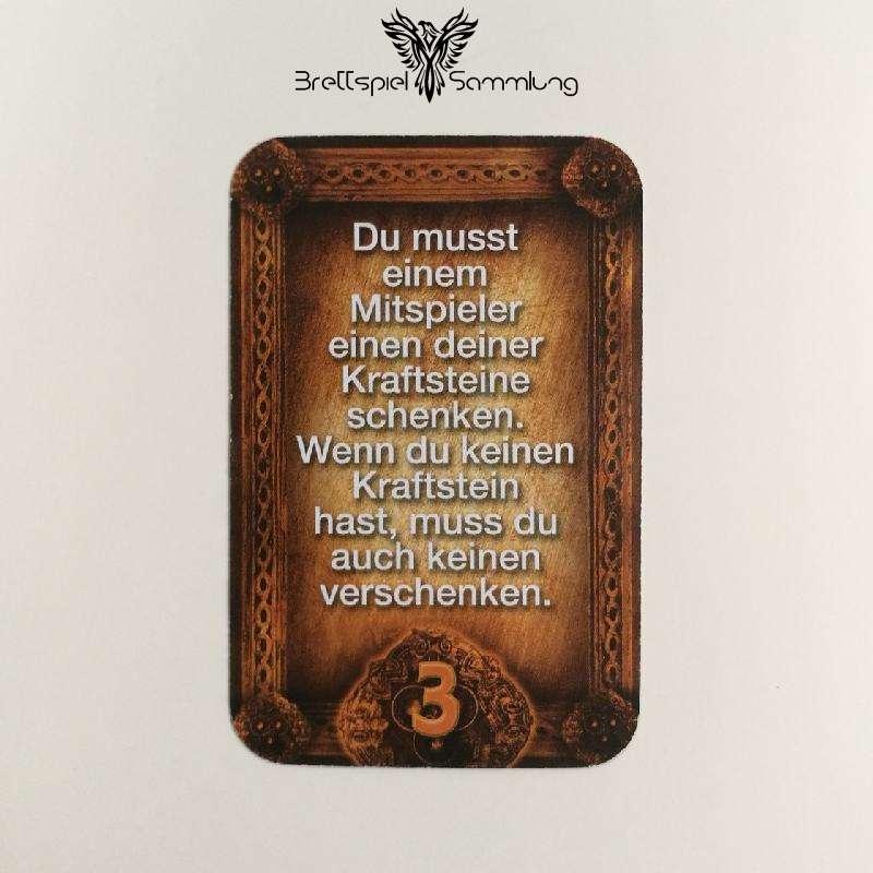 Das Haus Anubis Pfad Der 7 Sünden Sündenkarte Neid Motiv #9