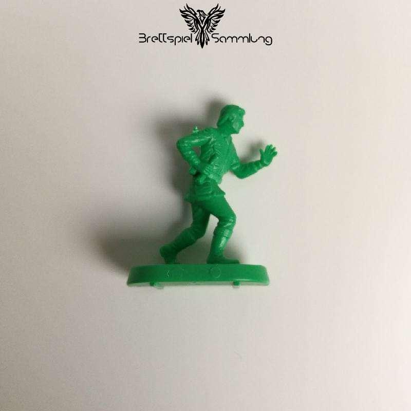 Die Jagd Nach Dem Blutroten Rubin Spielfigur Abenteurer Grün