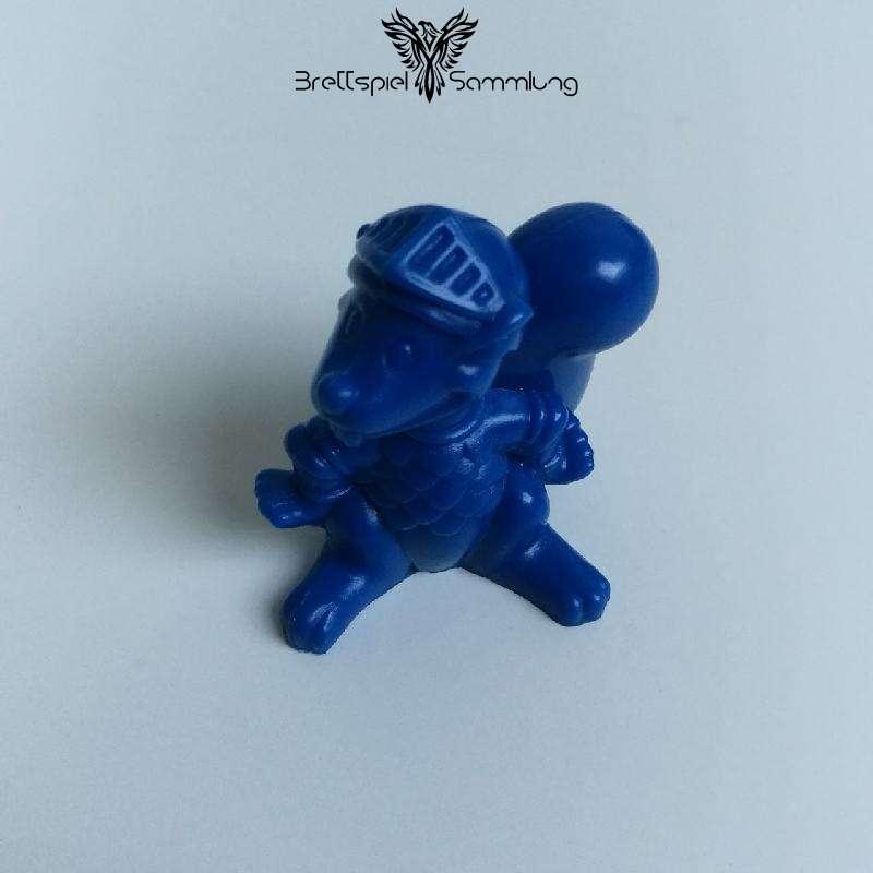 Die Ritter Von Der Haselnuß Spielfigur Eichhörnchenritter Blau