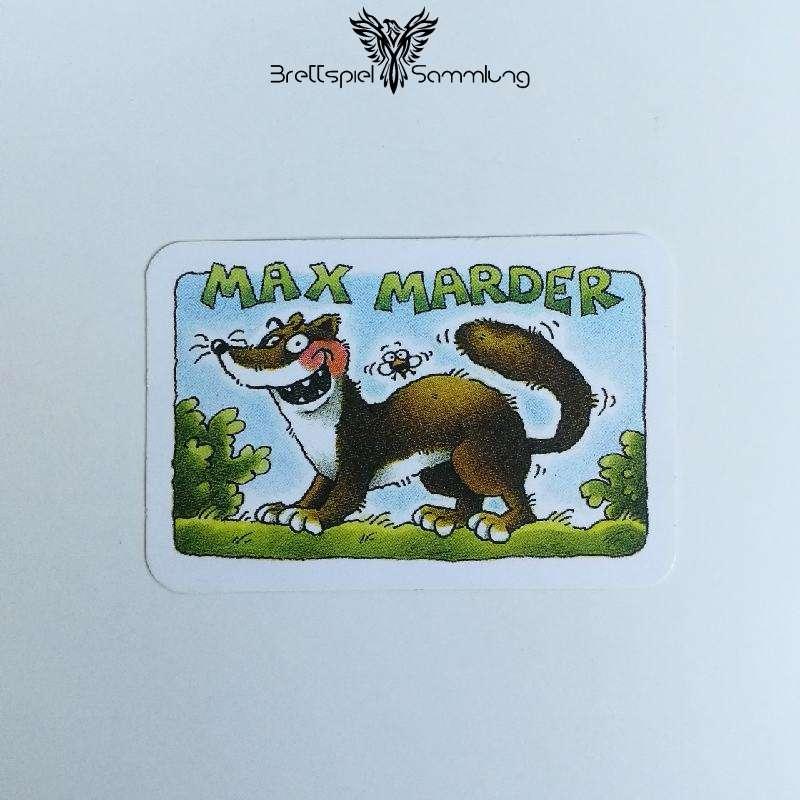 Die Ritter Von Der Haselnuß Räuberkarte Max Marder