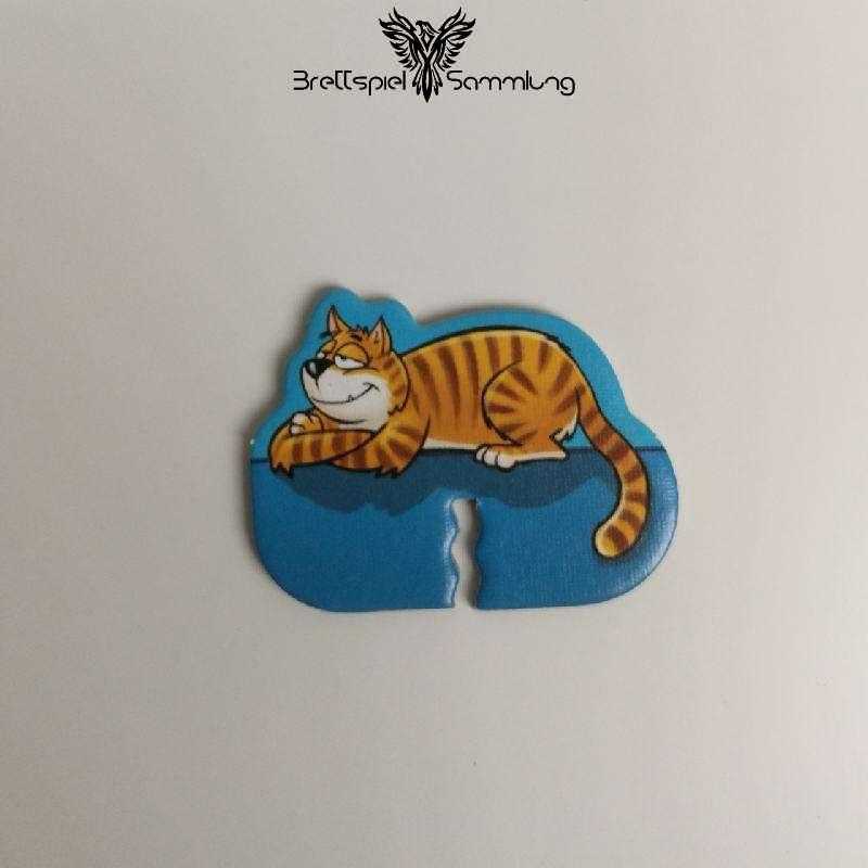 Monsterfalle Mitbringspiel Punktezähler Katze Motiv #3