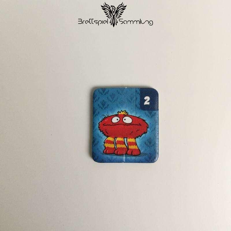 Monsterfalle Mitbringspiel Monster Kärtchen Motiv #1
