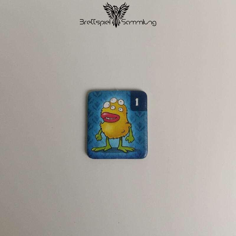 Monsterfalle Mitbringspiel Monster Kärtchen Motiv #3