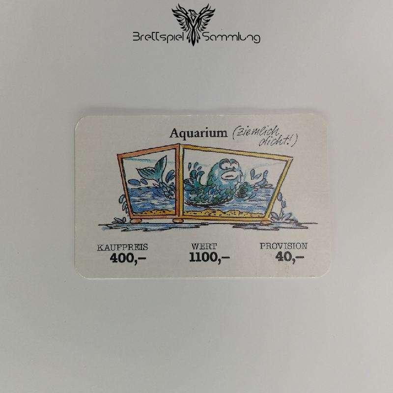 Ohne Moos Nix Los Geschäftskarte Aquarium