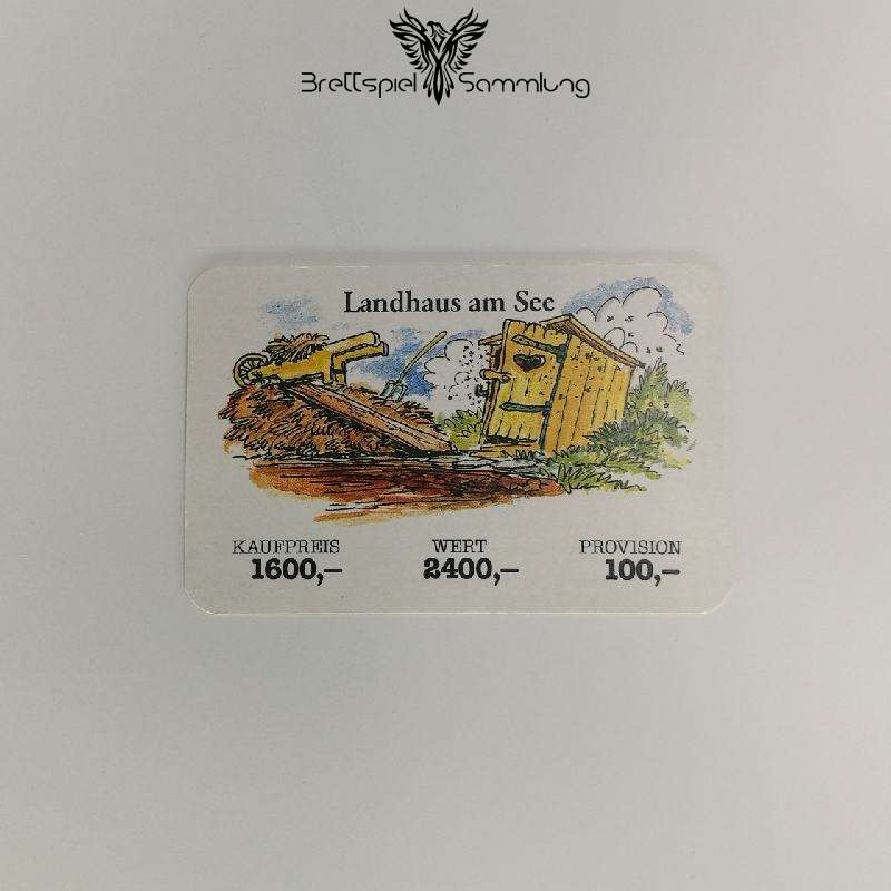 Ohne Moos Nix Los Geschäftskarte Landhaus Am See
