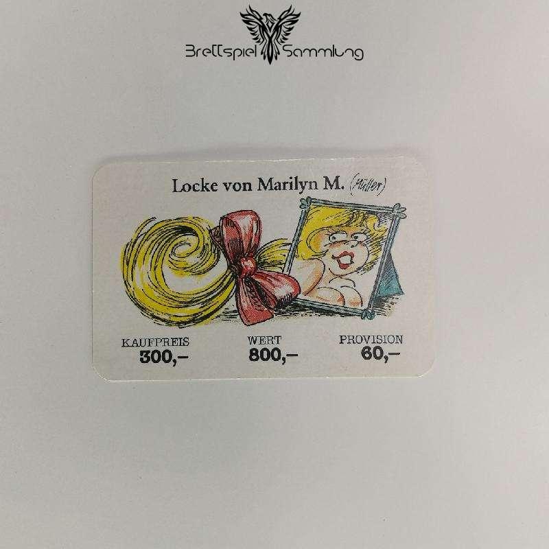 Ohne Moos Nix Los Geschäftskarte Locke Von Marilyn M.