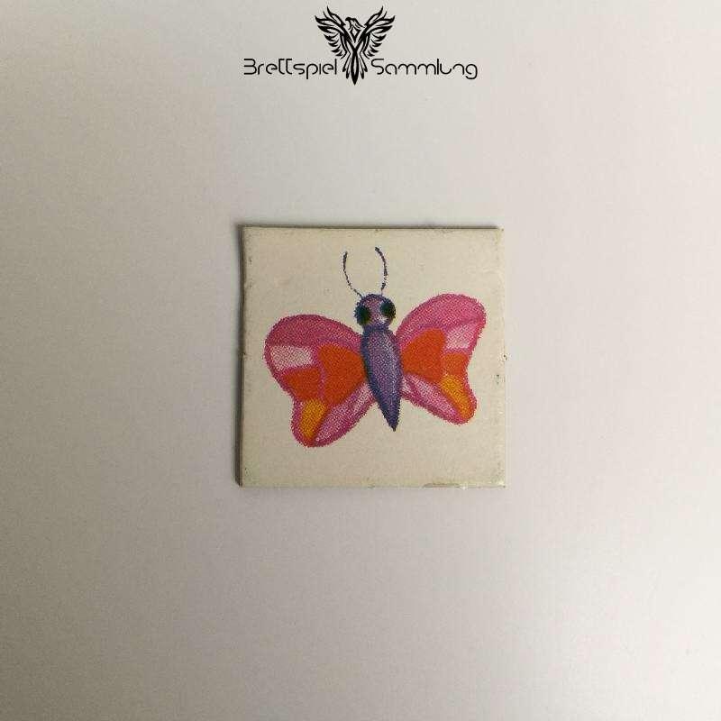 Vier Erste Spiele Bildkärtchen Schmetterling