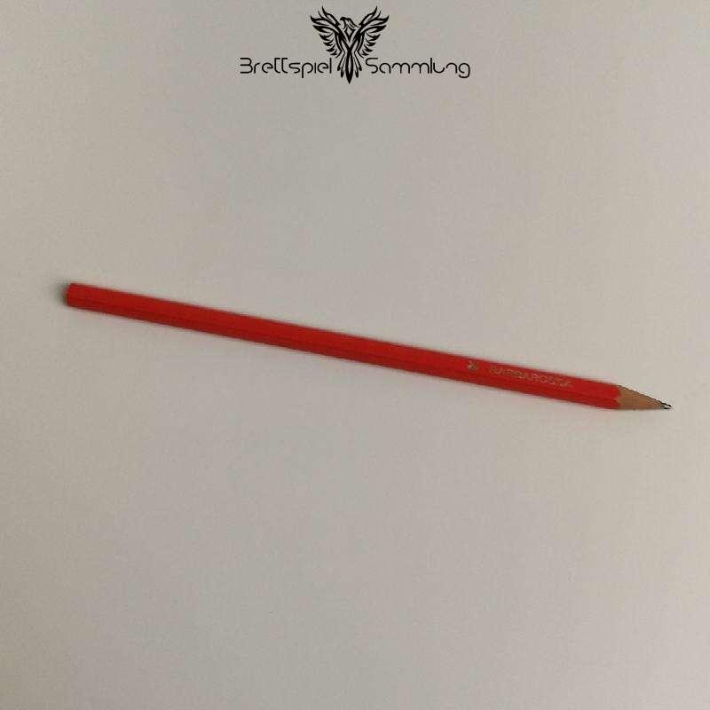 Barbarossa Und Die Rätselmeister Bleistift Rot