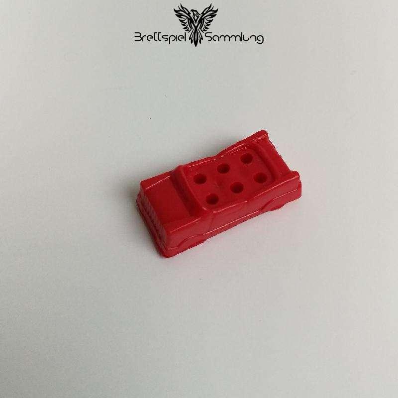Spiel Des Lebens Spielfigur Auto Rot #1