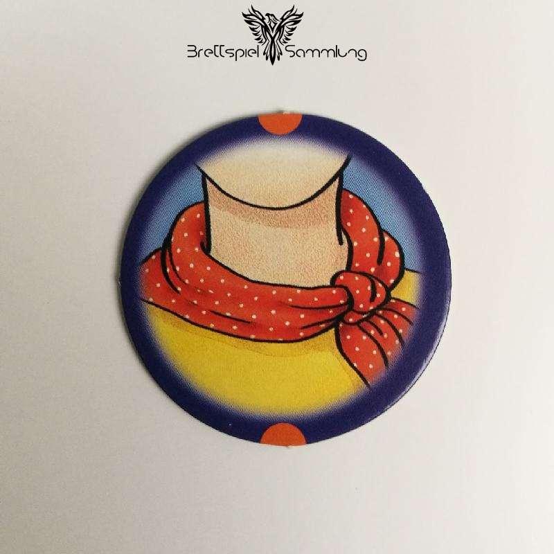 Die Freche Sprechhexe Spielchip Lila Motiv #6