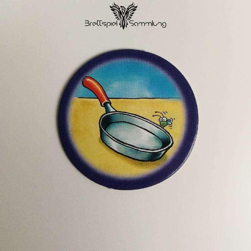 Die Freche Sprechhexe Spielchip Lila Motiv #10