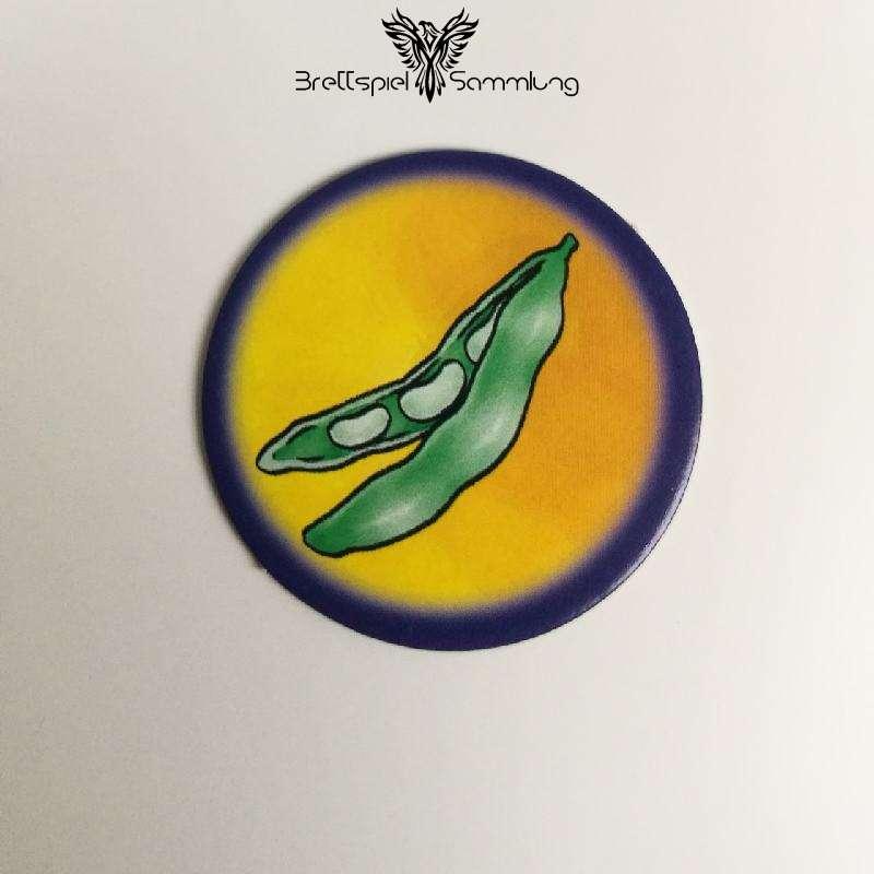 Die Freche Sprechhexe Spielchip Lila Motiv #17