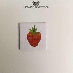 Die Kleine Raupe Nimmersatt Kärtchen Erdbeere