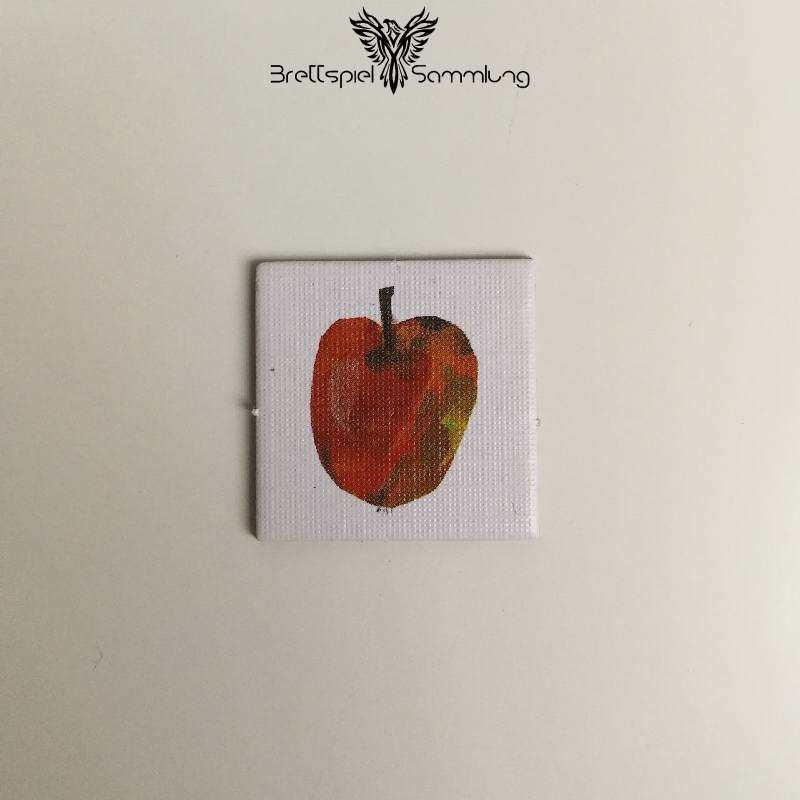 Die Kleine Raupe Nimmersatt Kärtchen Apfel