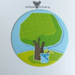 Erster Obstgarten Baum Motiv #2
