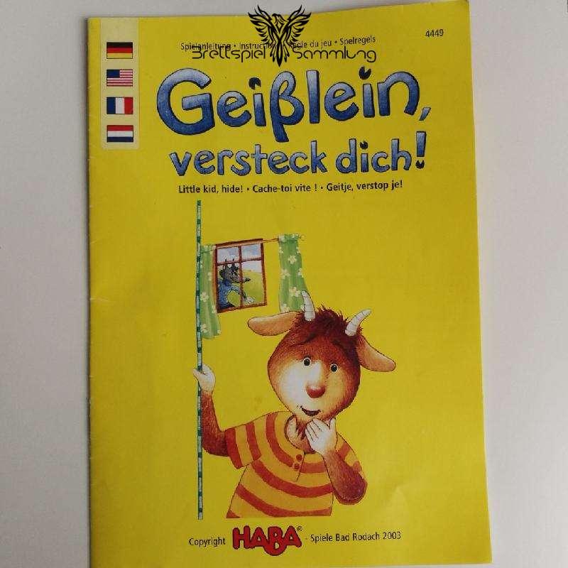 Geißlein Versteck Dich Spielanleitung