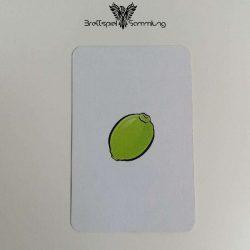 Halli Galli Spielkarte Limette Motiv #1