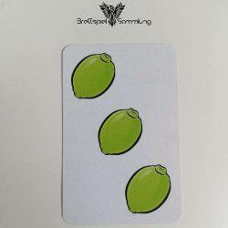 Halli Galli Spielkarte Limette Motiv #3