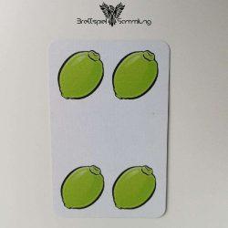 Halli Galli Spielkarte Limette Motiv #4