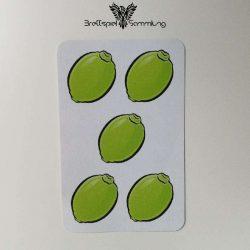 Halli Galli Spielkarte Limette Motiv #5