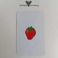 Halli Galli Spielkarte Erdbeere Motiv #1
