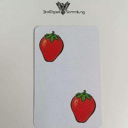 Halli Galli Spielkarte Erdbeere Motiv #2