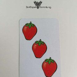 Halli Galli Spielkarte Erdbeere Motiv #3
