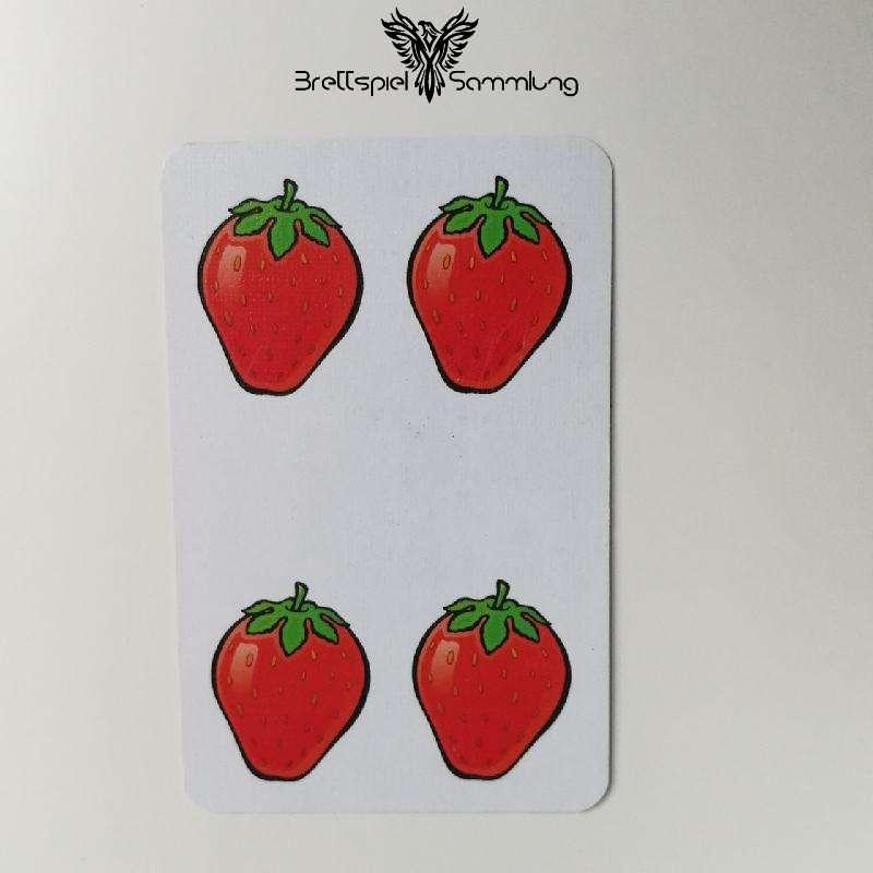 Halli Galli Spielkarte Erdbeere Motiv #4