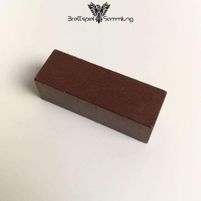 Make´n´break Mitbringspiel Holzbaustein Braun