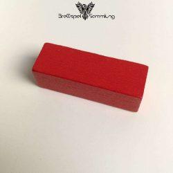 Make´n´break Mitbringspiel Holzbaustein Rot