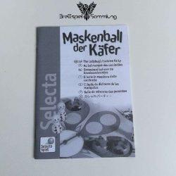 Maskenball Der Käfer Spielanleitung