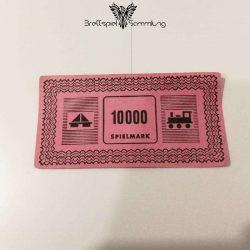 Monopoly Silber Edition Spielgeld 10000 Spielmark #1