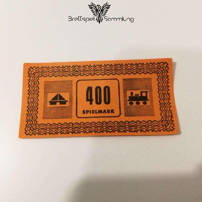Monopoly Silber Edition Spielgeld 400 Spielmark #1