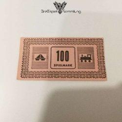 Monopoly Silber Edition Spielgeld 100 Spielmark #1